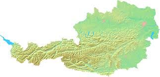 Terrain Map Of Usa by Road Map Of Austria