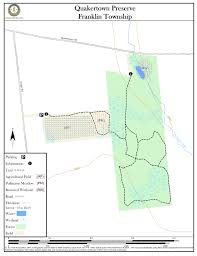 Nj Path Map Quakertown Preserve Hiking Trail Map And Guide New Jersey Trails