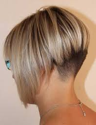 edgy bob hairstyle edgy bob hairstyle with shaved nape style for short hair girls