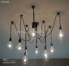 Light Bulb Chandeliers Selling Modern L 10 Lights Edison Light Bulb Chandelier