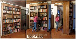 Diy Hidden Bookcase Door How To Build A Hidden Door Bookshelf 6 Steps With Pictures