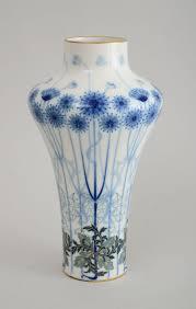 Sevres Vases For Sale B U003esèvres Porcelain Art Nouveau Vase U003c B U003e U003cbr U003e With Green Triangle