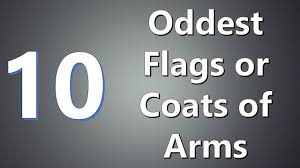 Multicoloured Flag Top 10 Oddest Flags Or Coats Of Arms Youtube