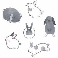 rabbit prints the 25 best rabbit illustration ideas on bunny