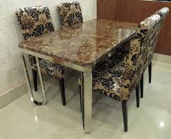 marble and stainless steel dining table stainless steel dining table ss dining table stainless steel ki