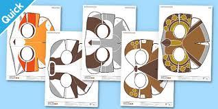 enkl woodland animal masks printable enkl arts crafts