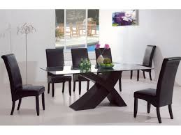 contemporary dining room chair luxury modern glass dining table