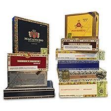 Royal Comfort Cigarillos Amazon Com Empty Cigar Box Home U0026 Kitchen