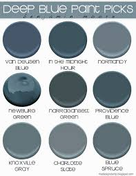Powder Blue Paint Color by Deep Blue Moody Blue Paint Picks Benjamin Moore Design Dump