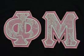 sorority lettered shirts