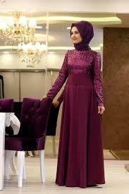 gaun muslim model baju muslim pesta pernikahan bahan brokat desain baju