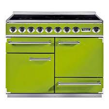 piano de cuisine electrique piano de cuisson 3 fours et plaque de cuisson 5 brûleurs delux