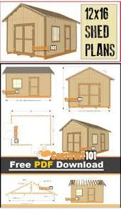 Free Outdoor Wood Shed Plans by 25 Best Diy Shed Plans Ideas On Pinterest Building A Shed Diy