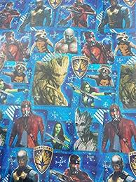 galaxy wrapping paper guardians of the galaxy wide gift wrapping paper 70 sq ft by