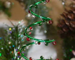wire tree ornament etsy