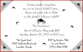 free halloween party invitations