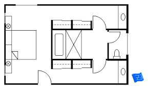 his and bathroom floor plans master bedroom floor plans