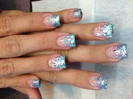 new nails winter wonderland theme my current styles