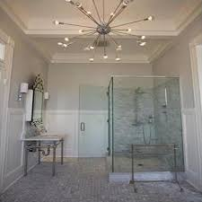 Cascading Chandelier by Master Bathroom Cascading Chandelier Design Ideas