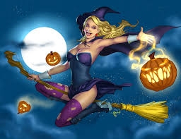 happy halloween artwork happy halloween 2016 witch pin up by ehillustrations on deviantart