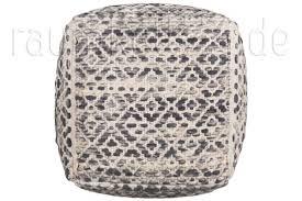 pouf kaufen sitz pouf smooth comfort diamond grau von tom tailor