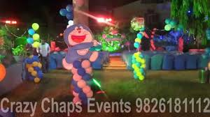 doraemon theme by crazy chaps events 9826181112 youtube