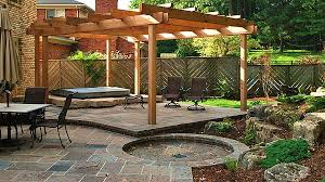 rock landscaping contractor paradise decks and landscape design