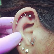triple cartilage piercings 40 off what u0027s new dragon fx