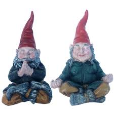 toad hollow 21 in rumple gnome garden statue 36106 the home depot