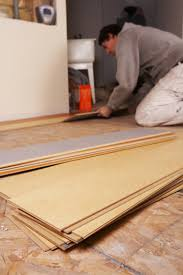 Laying Tile Effect Laminate Flooring How To Lay Tile Effect Laminate Ehow Uk