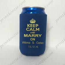 wedding can koozies wedding favor koozies drink koozie personalized can