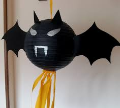 how to turn a paper lantern into a halloween pinata