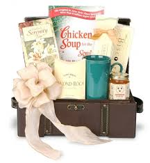 condolence gift ideas the chicken soup for the soul sympathy gift basket gourmet gift in