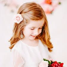 flowergirl hair flower girl hairstyles popsugar