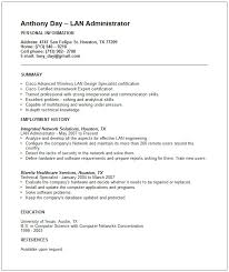 sample resume for information security manager