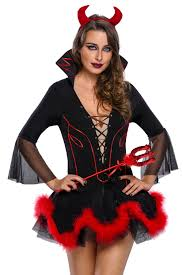168 halloween costumes miss iblis devil costume wholesale halloween costumes set