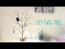 DIY Twig Tree  Decorative Christmas Tree Jewellery Hanger  YouTube