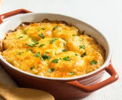 cuisiner viande gratin de pommes de terre à la viande hâchée recette de gratin de