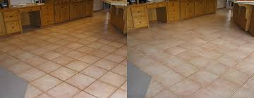 Floor Tile Repair Oregon Tile And Grout Cleaning Before And After Pictures