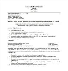 Military To Civilian Resume Military Veteran Resume Examples Examples Of Government Resumes