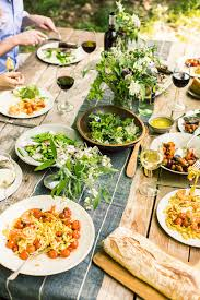summer dinner party great menu and table home pinterest