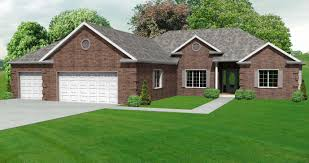 3 Bedroom House Plans With Basement Ranch Houses Awesome 32 Brick Ranch House Plan 3 Bedroom Ranch