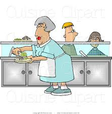 Grandma In Rocking Chair Clipart Royalty Free Meal Stock Cuisine Designs