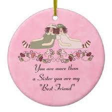 best friends ornaments keepsake ornaments zazzle