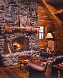 rustic stone fireplaces 38 rustic country cabins with a stone fireplace for a romantic get away