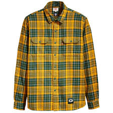design gridiron jersey green bay packers levi s gridiron plaid shirt at the packers pro shop