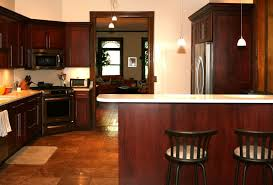 what paint color goes best with cherry wood cabinets home design ideas and diy project