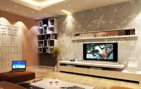 Tv In Living Room Interior Design Tv Wall