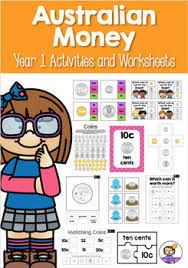 australian money activities and worksheets year 1 by lightbulb