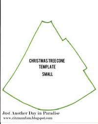 christmas tree cone template diy pinterest christmas trees